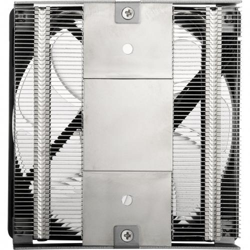 Cooler Master MasterAir G200P Low Profile 2 Heat Pipe Cooler With RGB Fan Alternate-Image3/500