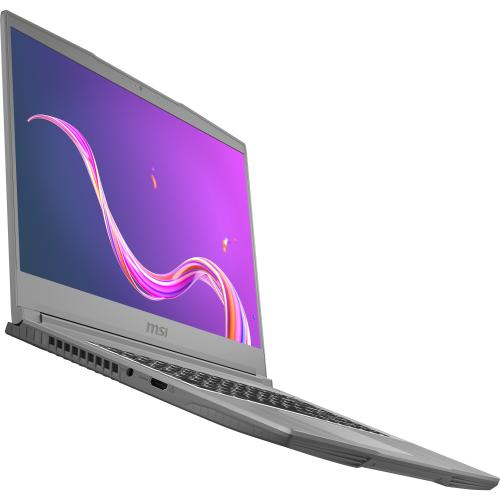 """MSI Creator 15M 15.6"""" Laptop Core I7 10750H 16GB RAM 1TB SSD RTX 2060 6GB   10th Gen I7 10750H Hexa Core   NVIDIA GeForce RTX 2060 6GB   In Plane Switching (IPS) Technology   True Color Technology   Up To 8 Hr Battery Life Alternate-Image3/500"""