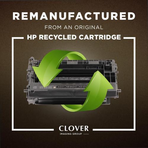 Clover Technologies Remanufactured Toner Cartridge   Alternative For HP 202A   Black Alternate-Image3/500