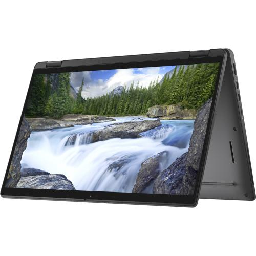 """Dell Latitude 7000 7410 14"""" Touchscreen 2 In 1 Notebook   Full HD   1920 X 1080   Intel Core I7 (10th Gen) I7 10610U Quad Core (4 Core) 1.80 GHz   16 GB RAM   256 GB SSD   Aluminum Titan Gray Alternate-Image3/500"""