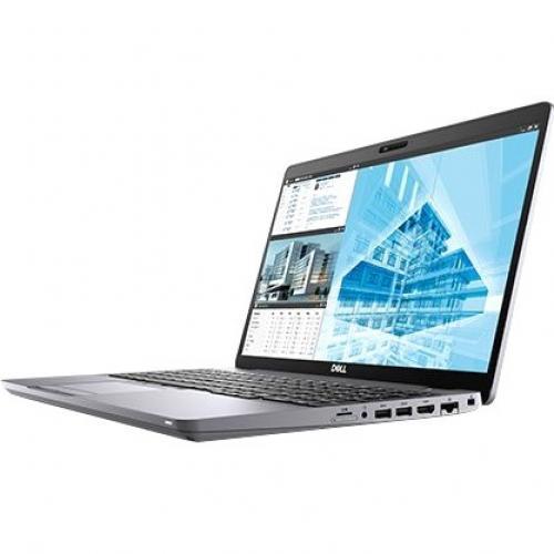 """Dell Precision 3000 3551 15.6"""" Mobile Workstation   Full HD   1920 X 1080   Intel Core I7 (10th Gen) I7 10750H Hexa Core (6 Core) 2.60 GHz   32 GB RAM   512 GB SSD Alternate-Image3/500"""