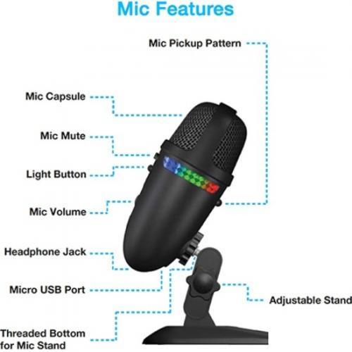 Cyber Acoustics Teton CVL 2009 Wired Microphone Alternate-Image3/500