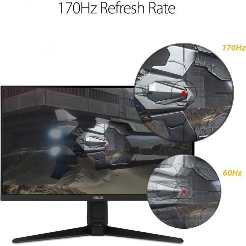 "TUF VG27AQL1A 27"" WQHD WLED Gaming LCD Monitor   16:9   Black Alternate-Image3/500"