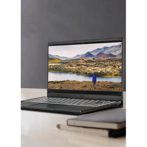 "MSI Modern 14   B10R Modern 14 B10RASW 078 14"" Gaming Notebook   Full HD   1920 X 1080   Intel Core I7 (10th Gen) I7 10510U 1.80 GHz   8 GB RAM   512 GB SSD   Onyx Black Alternate-Image3/500"