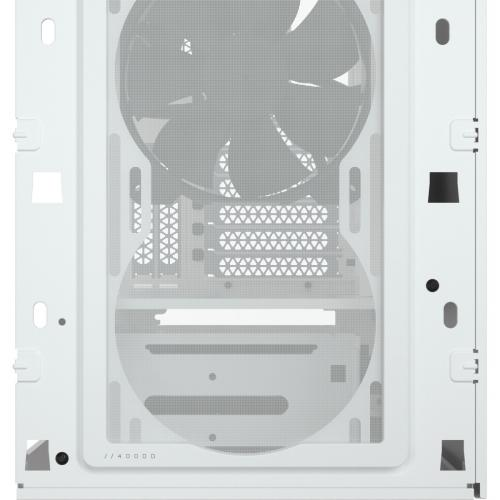 Corsair 4000D Tempered Glass Mid Tower ATX Case   White Alternate-Image3/500