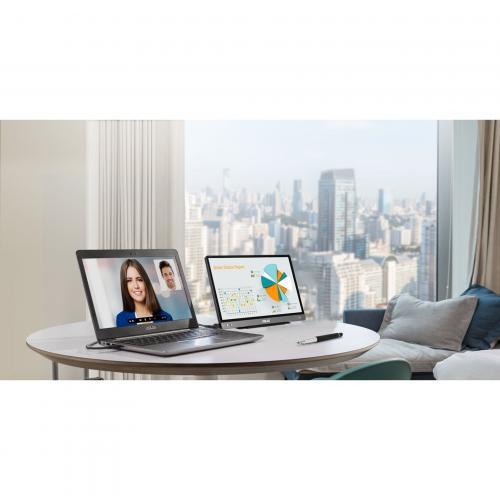 """Asus ZenScreen MB14AC 14"""" Full HD LCD Monitor   16:9   Dark Gray Alternate-Image3/500"""