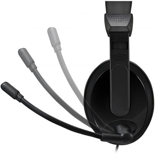 Adesso Xtream H5U   USB Stereo Headset With Microphone   Noise Cancelling   Wired  Lightweight Alternate-Image3/500