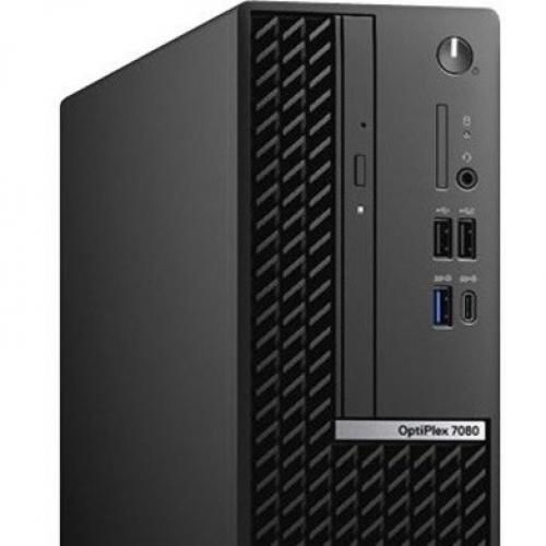 Dell OptiPlex 7000 7080 Desktop Computer   Intel Core I5 10th Gen I5 10500 Hexa Core (6 Core) 3.10 GHz   8 GB RAM DDR4 SDRAM   256 GB SSD   Small Form Factor Alternate-Image3/500