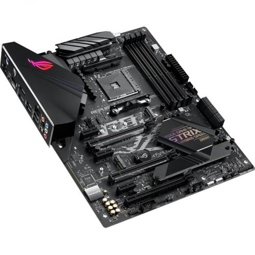 Asus ROG Strix B450 F GAMING II Desktop Motherboard   AMD Chipset   Socket AM4   ATX Alternate-Image3/500