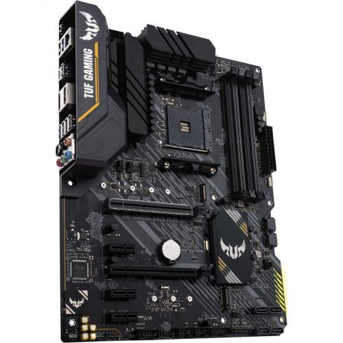 TUF GAMING B450 PLUS II Desktop Motherboard   AMD Chipset   Socket AM4   ATX Alternate-Image3/500