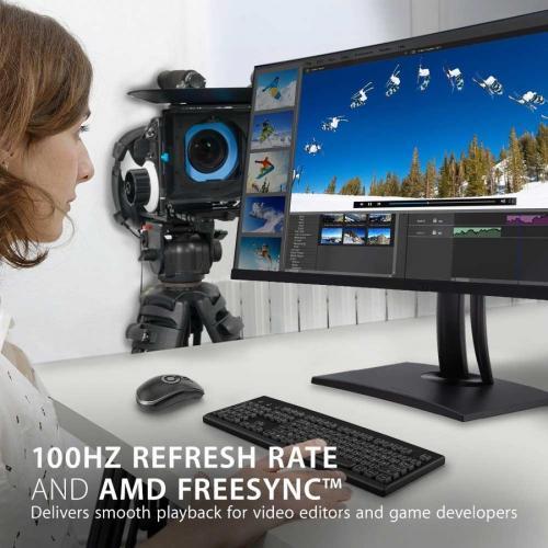 "Viewsonic VP3481A 34"" WQHD+ Curved Screen LED LCD Monitor   21:9 Alternate-Image3/500"