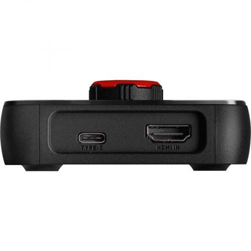 EVGA XR1 USB 3.0 4K Pass Through Video Capturing Device W/ Audio Mixer   USB 3.0 Type C & HDMI Interface   1080p@ 60fps Video Capture   1440p @120fps HDR Advanced Pass Through   4K @60fps Pass Through   Built In Audio Mixer Via Control Dial Alternate-Image3/500