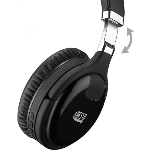 Xtream P600   Bluetooth Active Noise Cancellation Headphone With Built In Microphone Alternate-Image3/500