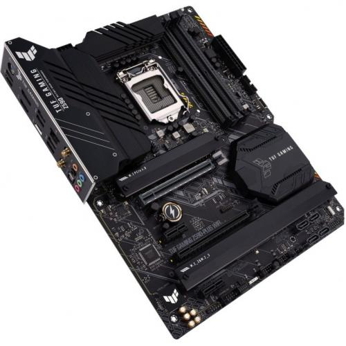 TUF GAMING Z590 PLUS WIFI Desktop Motherboard   Intel Chipset   Socket LGA 1200   Intel Optane Memory Ready   ATX Alternate-Image3/500