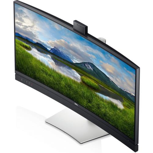 """Dell C3422WE 34.1"""" WQHD Curved Screen Edge WLED LCD Monitor   21:9   Platinum Silver Alternate-Image3/500"""