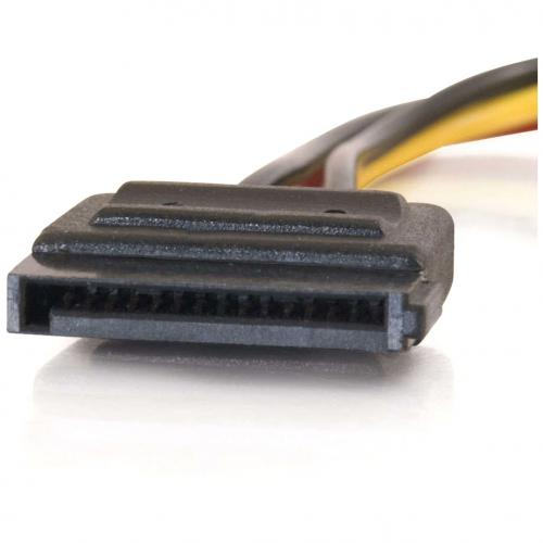 C2G 6in Serial ATA Power Adapter Cable Alternate-Image3/500