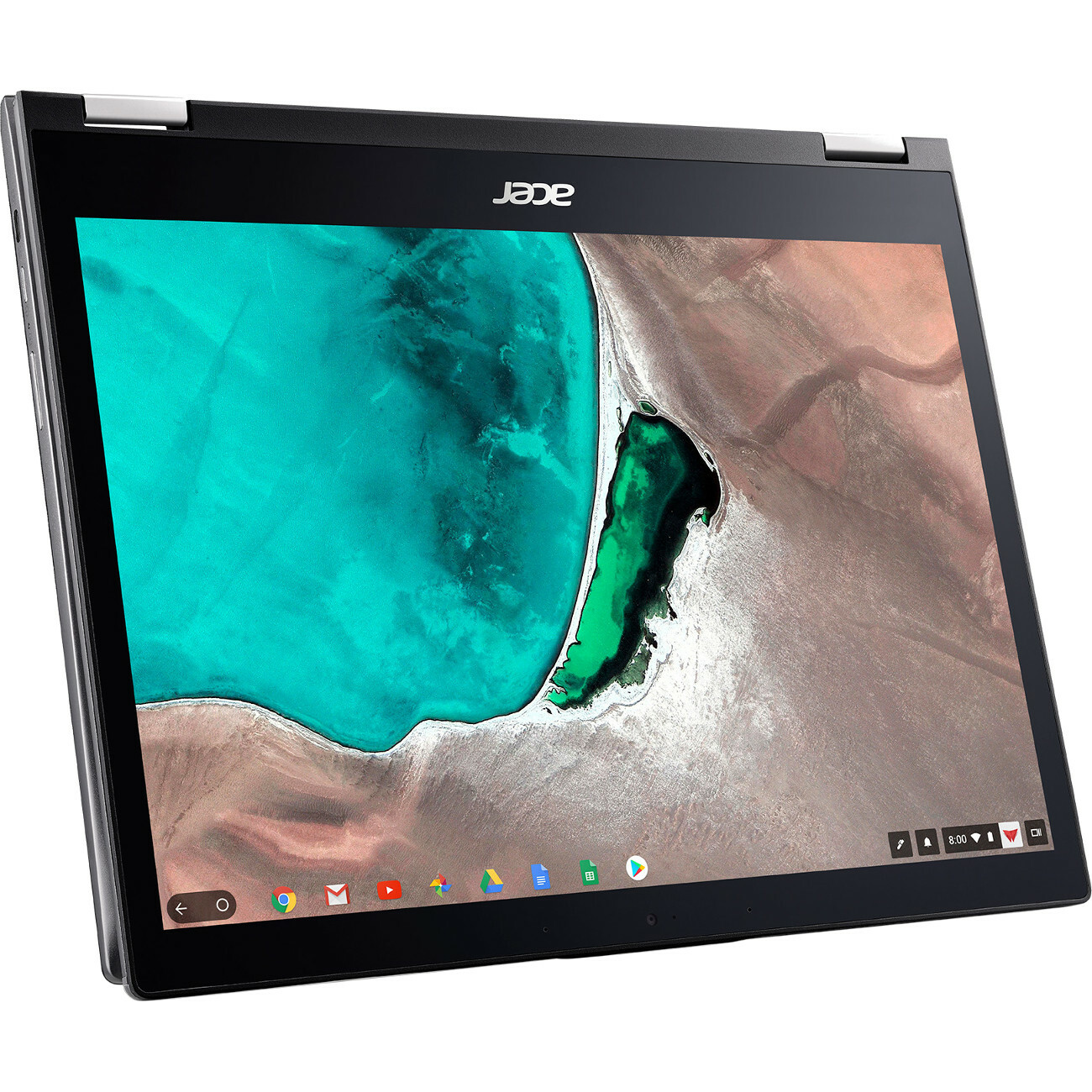 "Acer Chromebook Spin 13 CP713 1WN CP713 1WN 385L 13.5"" Touchscreen 2 In 1 Chromebook   2256 X 1504   Intel Core I3 (8th Gen) I3 8130U Dual Core (2 Core) 2.20 GHz   8 GB RAM   64 GB Flash Memory   Gray Alternate-Image4"