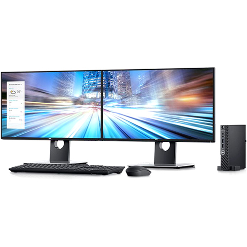 Dell OptiPlex 3000 3070 Desktop Computer   Intel Core I3 9th Gen I3 9100T 3.10 GHz   8 GB RAM DDR4 SDRAM   500 GB HDD   Micro PC Alternate-Image4/500