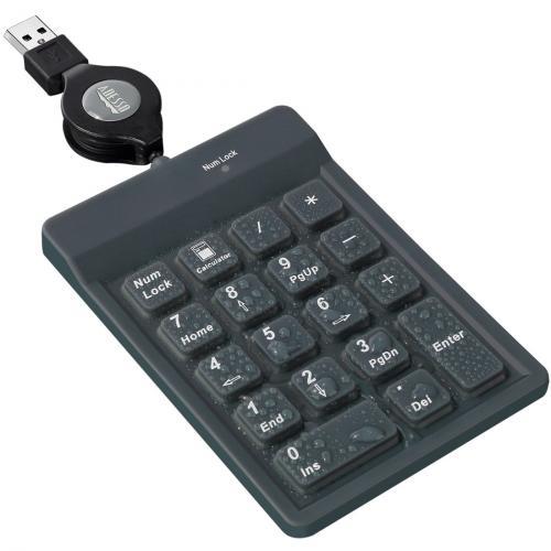 Adesso AKP 218 18 Key Waterproof Key Pad Alternate-Image4/500