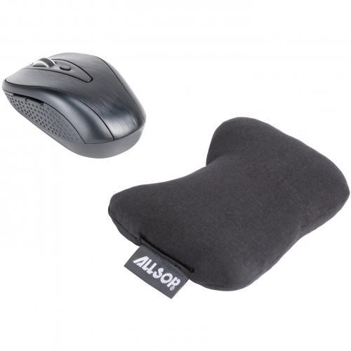 Allsop ComfortBead Wrist Rest   Black   (29808) Alternate-Image4/500