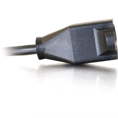 C2G 15ft Power Extension Cord   18 AWG   NEMA 5 15P To NEMA 5 15R Alternate-Image4/500