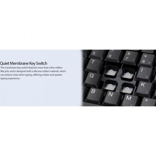 Adesso EasyTouch AKB 110B Mini Keyboard Alternate-Image4/500