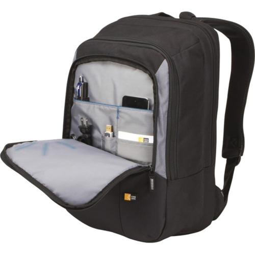 "Case Logic VNB 217 Carrying Case (Backpack) For 17"" Notebook   Black Alternate-Image4/500"