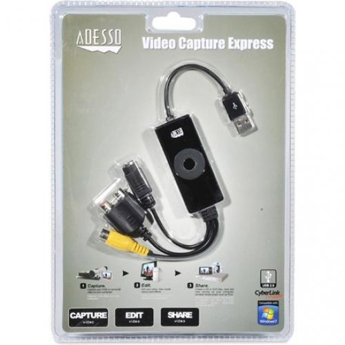 Adesso AV 200   Video Capture Express Alternate-Image4/500