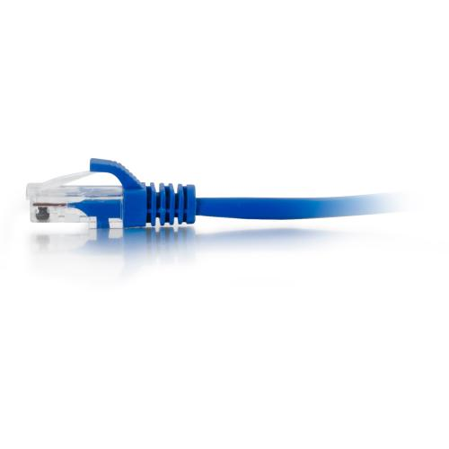 C2G 15ft Cat5e Snagless Unshielded (UTP) Network Patch Ethernet Cable Blue Alternate-Image4/500
