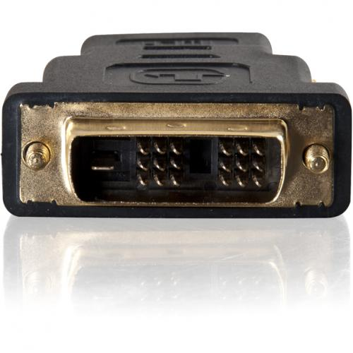 C2G DVI D To HDMI Adapter   Inline Adapter   Male To Female Alternate-Image4/500