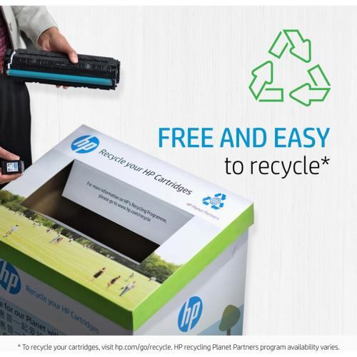 HP 131A   CF211A   Toner Cartridge   Cyan   Works With HP LaserJet Pro 200 Color Printer M251nw, M276nw Alternate-Image4/500