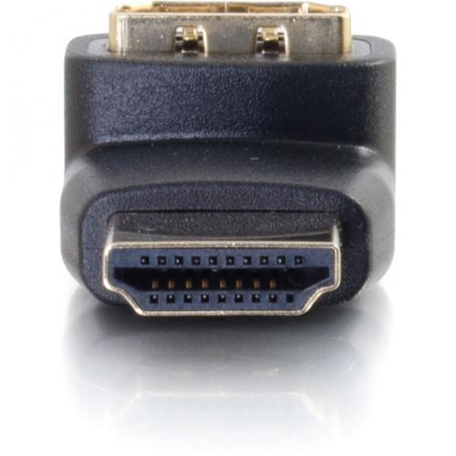 C2G HDMI To HDMI 90° Up Adapter   Male To Female Alternate-Image4/500