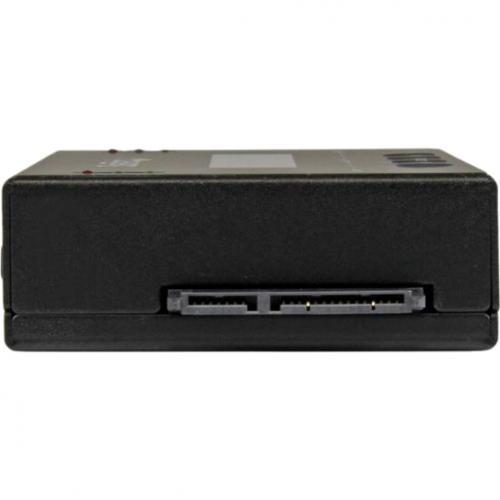 "StarTech.com Standalone 2.5 / 3.5"" SATA Hard Drive Duplicator W/ Multi HDD / SSD Image Backup Library Alternate-Image4/500"