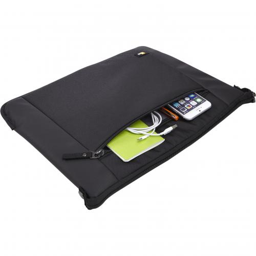 "Case Logic Intrata INT 114 Carrying Case (Attaché) For 14.1"" Notebook   Black Alternate-Image4/500"