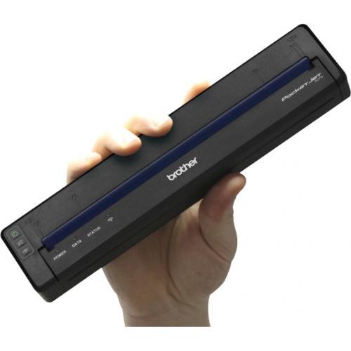Brother PocketJet PJ773 Direct Thermal Printer   Monochrome   Portable   Plain Paper Print Alternate-Image4/500