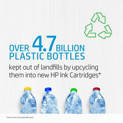 Original HP 952XL Cyan High Yield Ink Cartridge | Works With HP OfficeJet 8702, HP OfficeJet Pro 7720, 7740, 8210, 8710, 8720, 8730, 8740 Series | Eligible For Instant Ink | L0S61AN Alternate-Image4/500