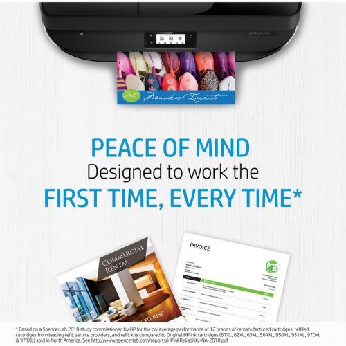 HP 952XL Ink Cartridge, Black (F6U19AN) Alternate-Image4/500