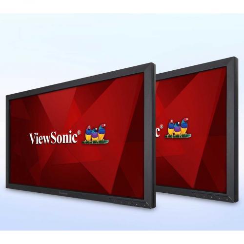 "Viewsonic VA2452Sm H2 24"" Full HD LED LCD Monitor   16:9 Alternate-Image4/500"