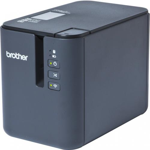 Brother P Touch PT P900W Thermal Transfer Printer   Monochrome   Desktop   Tape Print Alternate-Image4/500