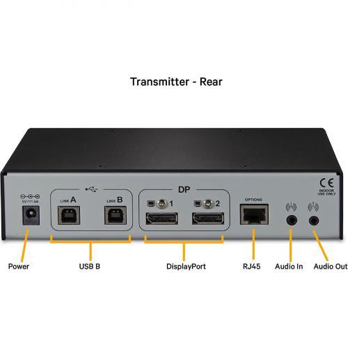 Dual Monitor, USB, Audio, CATx Up To 100m / 330ft   LV5020P Alternate-Image4/500