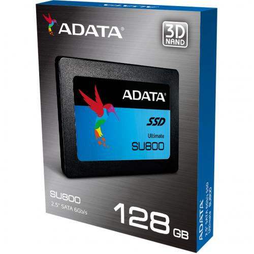 "Adata Ultimate SU800 ASU800SS 128GT C 128 GB Solid State Drive   2.5"" Internal   SATA (SATA/600)   Black Alternate-Image4/500"