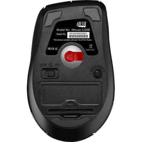 Adesso IMouse S200B   Bluetooth Ergo Mini Mouse Alternate-Image4/500