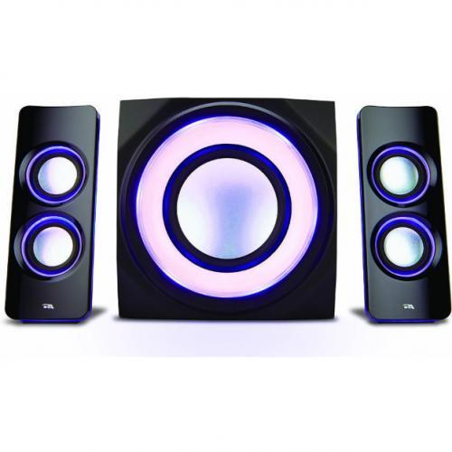 Cyber Acoustics Curve CA 3712BT 2.1 Bluetooth Speaker System   Black Alternate-Image4/500