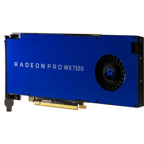 AMD Radeon Pro WX 7100 Graphic Card   2304 Stream Processors   8 GB GDDR5 Memory   1.19 GHz Core   256 Bit Memory Interface   4 X DisplayPort 1.4 Alternate-Image4/500