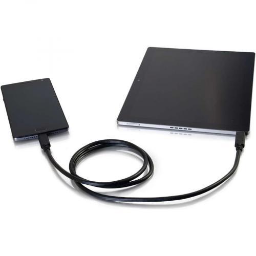C2G 1m (3ft) USB C Cable   USB 3.1   M/M Alternate-Image4/500