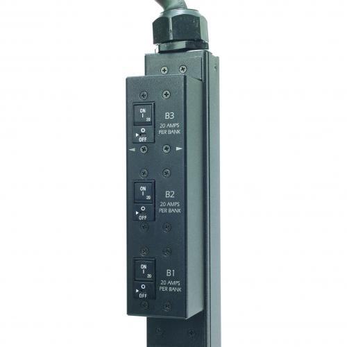 APC By Schneider Electric Rack PDU, Switched, Zero U,12.5kW,208V,(21)C13&(3)C19; 10' Cord Alternate-Image4/500