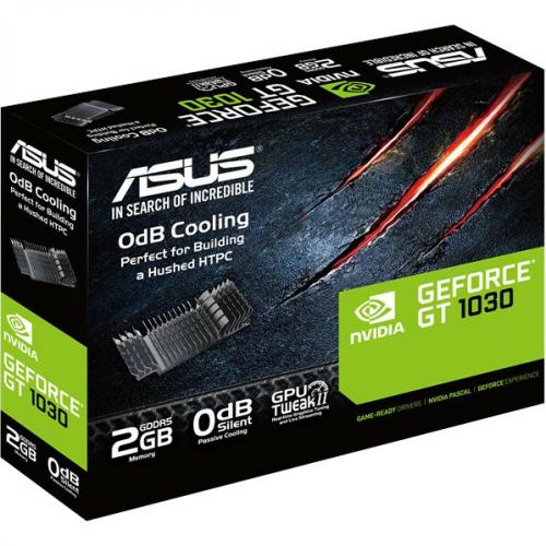 Asus GT1030 2G CSM GeForce GT 1030 Graphic Card   2 GB GDDR5   Low Profile Alternate-Image4/500