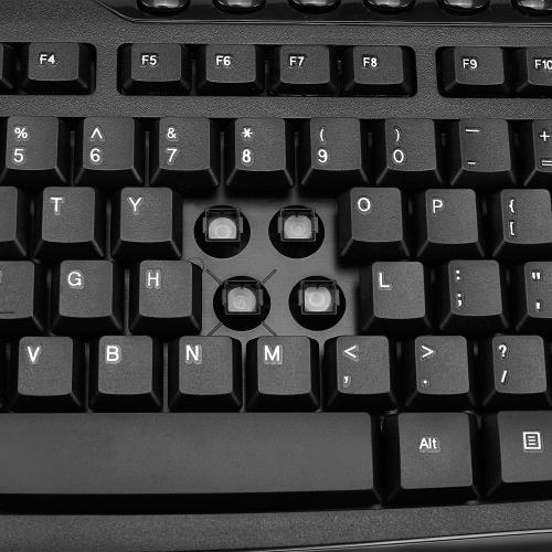 Adesso EasyTouch AKB 133CB Desktop USB Multimedia Keyboard And Mouse Combo Alternate-Image4/500