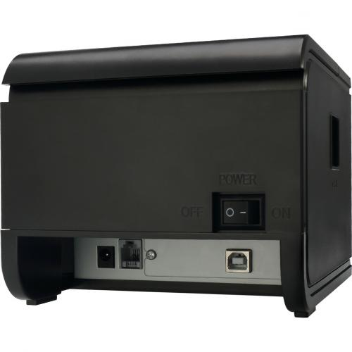Adesso NuPrint 210 Direct Thermal Printer   Monochrome   Desktop   Receipt Print Alternate-Image4/500