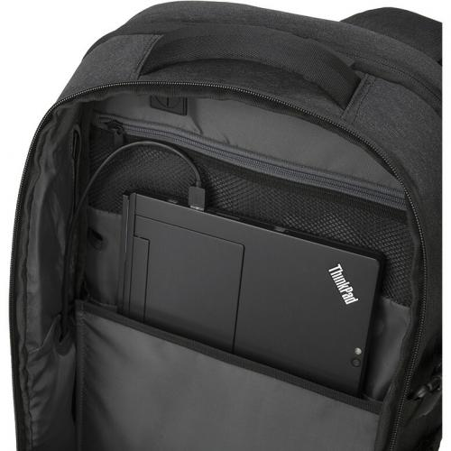 """Lenovo Passage Carrying Case (Backpack) For 17"""" Notebook   Charcoal Alternate-Image4/500"""